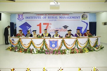 17th Convocation of the 30th Batch of FMS-IRM Students - top ranked mba colleges in jaipur Rajasthan india
