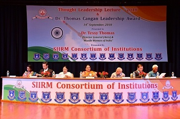 6th Thought Leadership Lecture Series at FMS-IRM - top ranked mba colleges in jaipur Rajasthan india