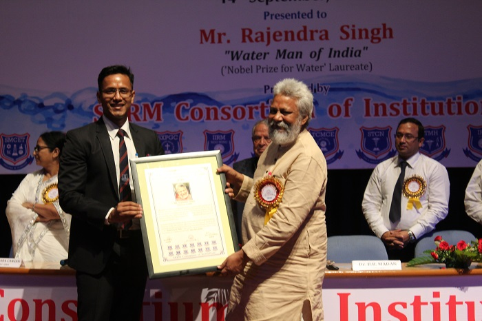 Thought Leadership Lecture Award - 2019 - top ranked mba colleges in jaipur Rajasthan india