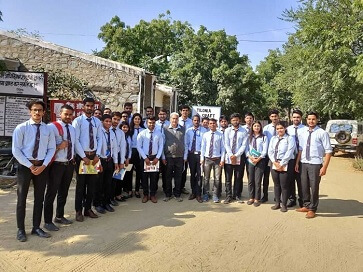 Industrial Visit to Barefoot College & Tilonia Craft - top ranked mba colleges in jaipur Rajasthan india