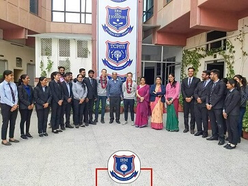 Weltwaerts Students Farewell - top ranked mba colleges in jaipur Rajasthan india