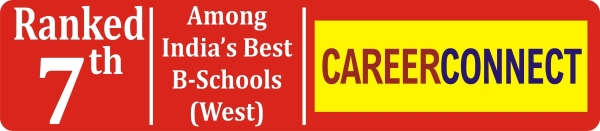 Ranked 7th, India's Best B-Schools, CAREERCONNECT