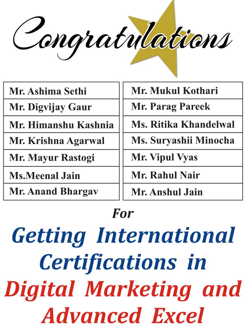 International Certification